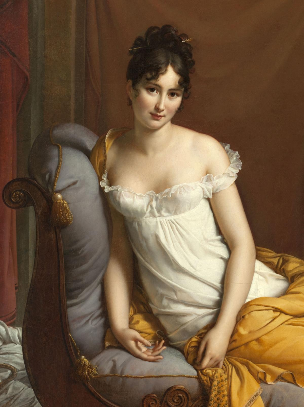 Portrait de Juliette Récamier, née Bernard (1777-1849) | Carnavalet