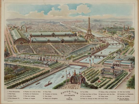 illustration Exposition universelle 1900